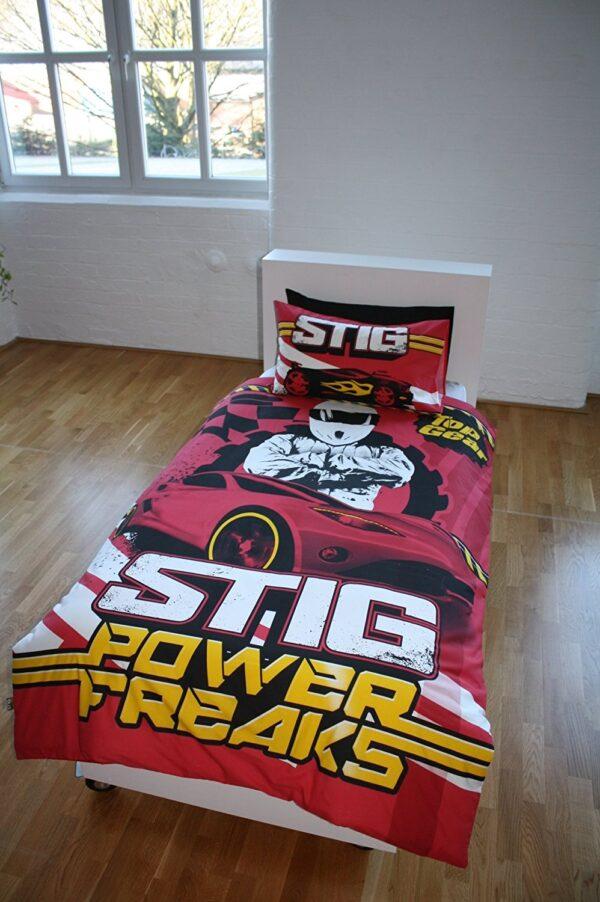 Top Gear Stig Power Freaks Single Duvet Set