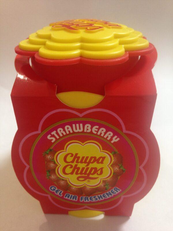 chupa chups strawberry gel air freshener 73g