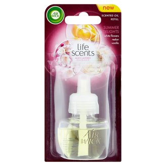 AIRWICK SCENTED OIL GLASS REFILL SUMMER DELIGHTS 19ML