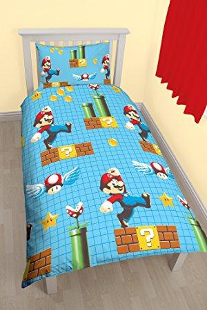 Super Mario Maker Single Duvet Set