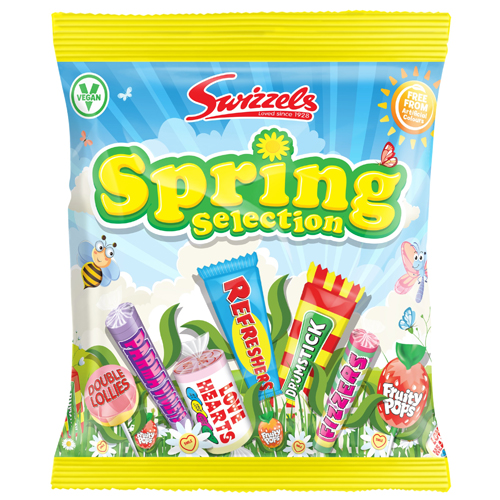 SWIZZELS SPRING SELECTION BAG 170G