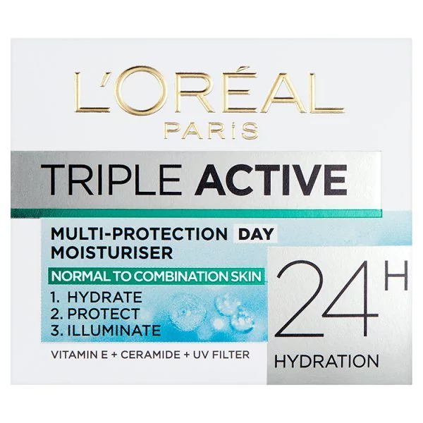 L'Oreal Paris Triple Active Combination Skin Hydrator 50ml