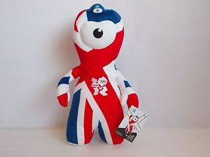 union flag wenlock soft toy collectors item
