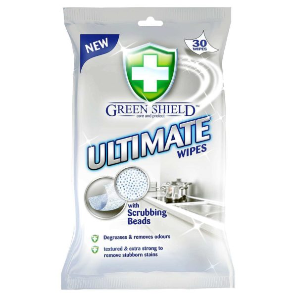 Green Shield Ultimate - 30 wipes