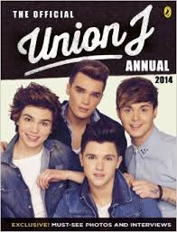 Official Union J Annual 2014