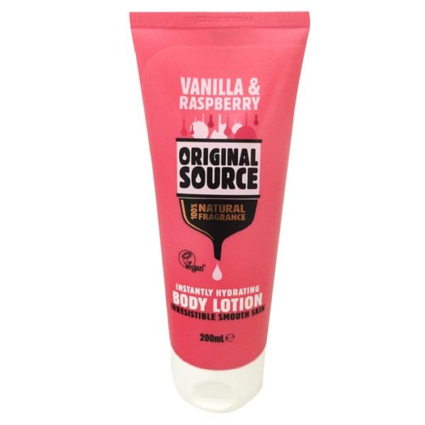 Original Source Raspberry & Vanilla Instantly Hydrating Body Lotion 200ml