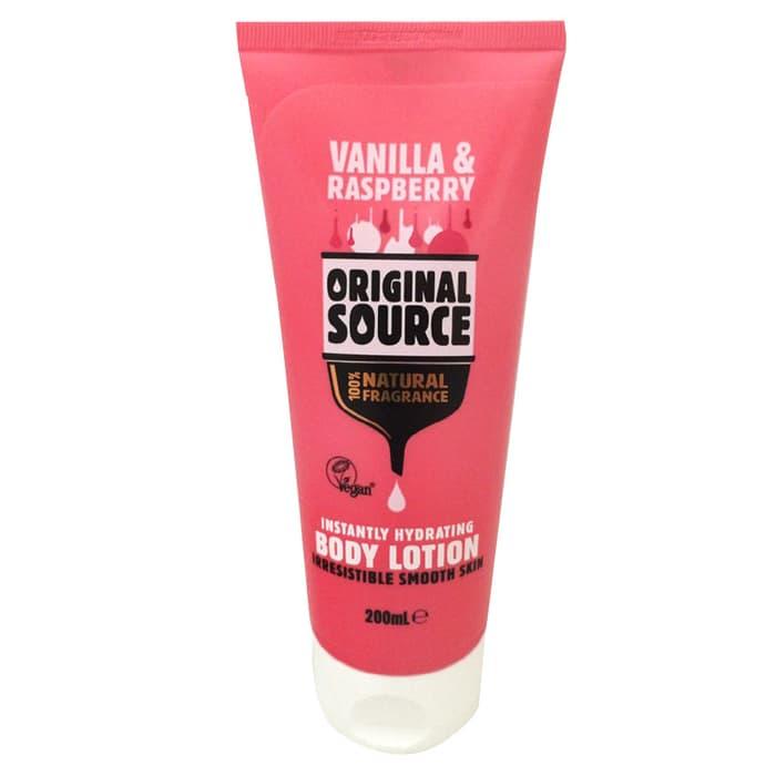 Original Source Raspberry & Vanilla Instantly Hydrating Body Lotion 200ml