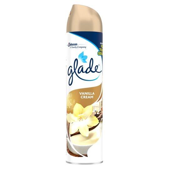 Glade Vanilla Cream Air Freshener 300ml