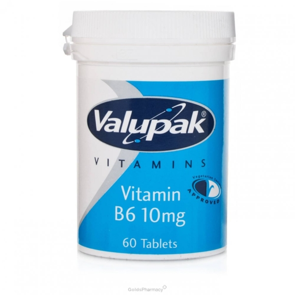 Valupak Vitamin B6 60 tablets
