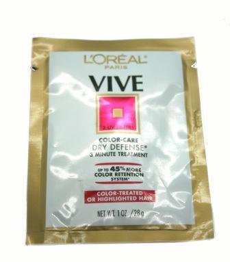 L'OREAL ELVIVE 3 MINUTE TREATMENT COLOUR-TREATED HAIR 28G