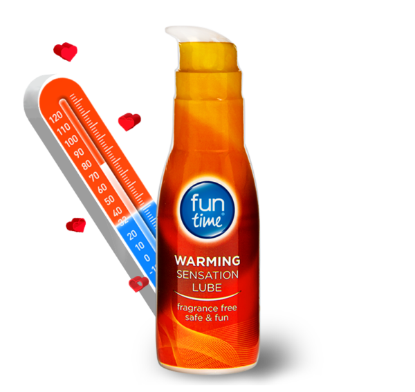 Fun Time Warming Sensation Lube 75ml