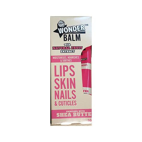 Wonder Balm Shea Butter Lip Skin Nails & Cuticles 50ml