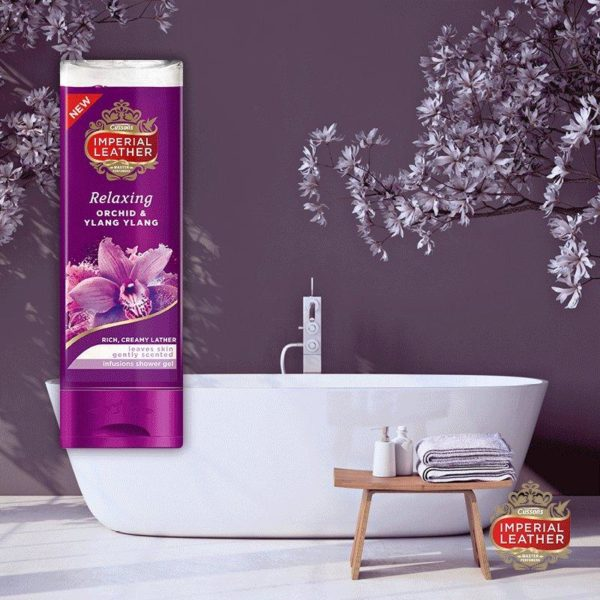 Imperial Leather Relaxing Shower Gel Orchid & Ylang Ylang infusions 250ml