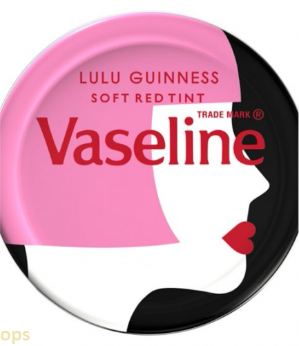 Vaseline Lulu Guinness lip tint red 20g
