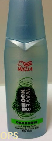 WELLA SHOCKWAVES CURL STYLING AQUA
