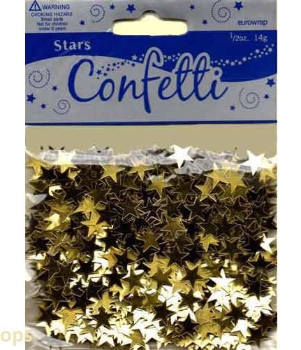 STARS CONFETTI 14G
