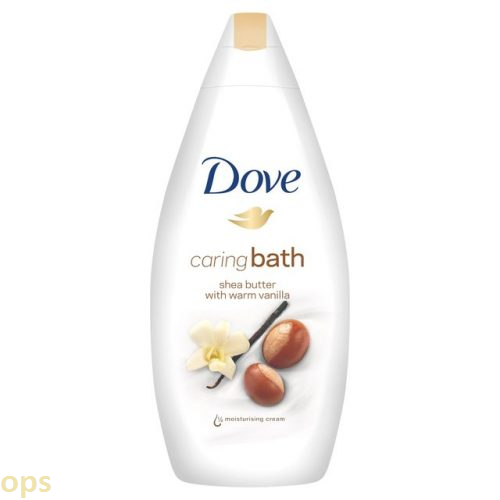dove caring bath shea butter with warm vanilla
