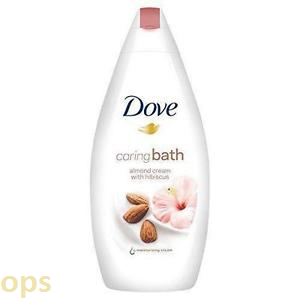 DOVE CARING BATH ALMOND CREAM WITH HIBISCUS