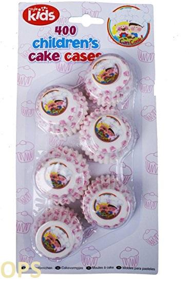 400 childrens cake case
