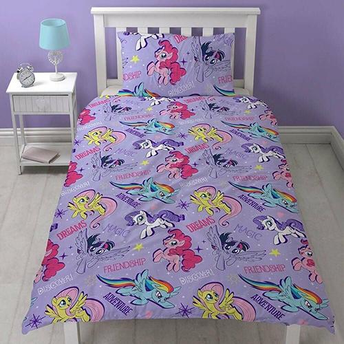 my little pony single duvet bedding set     online pound store